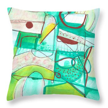 From Within #15 Throw Pillow by Stephen Lucas