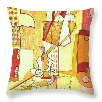 From Within 3 Throw Pillow