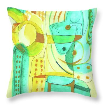 From Within 4 Throw Pillow