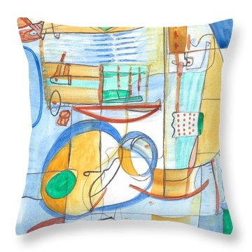 From Within 6 Throw Pillow