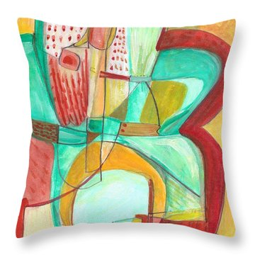 From Within 8 Throw Pillow
