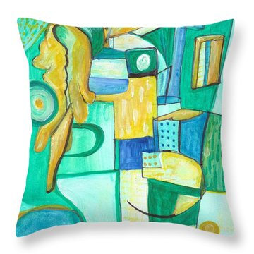 From Within 9 Throw Pillow