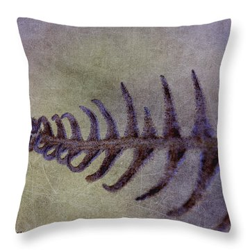 Frondle Throw Pillow by WB Johnston