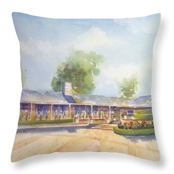 Front Of Home Throw Pillow
