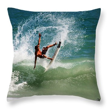 Front Side Air Throw Pillow