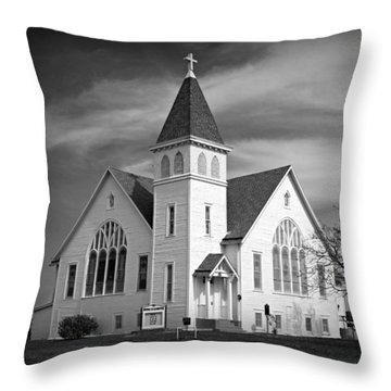 Frontier Witness Throw Pillow