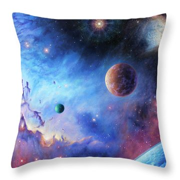 Frontiers Of The Cosmos Throw Pillow