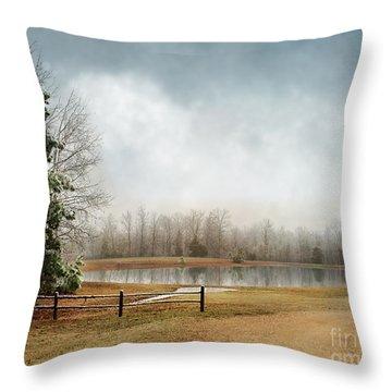 Frostbitten Throw Pillow by Jai Johnson