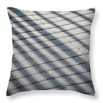 Frosty Irish Morning Throw Pillow