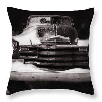 Frozen In Time Throw Pillow by Ken Smith