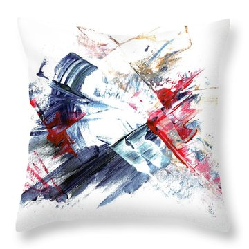Frozen In Time / Space Throw Pillow