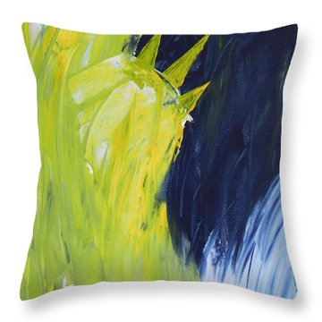 Frozen Liberty Throw Pillow