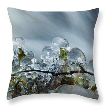 Frozen Wanderland I Throw Pillow