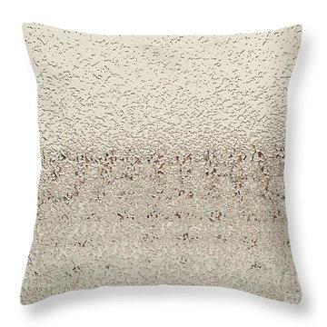 Frozen Window Throw Pillow