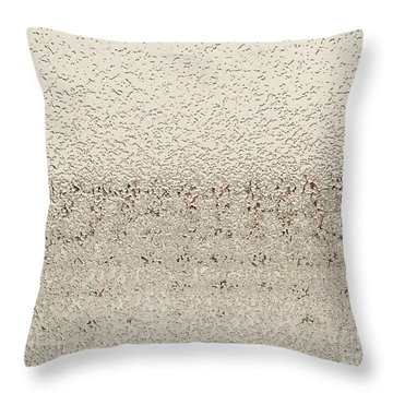 Frozen Window Throw Pillow