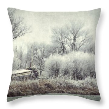 Frozen World Throw Pillow