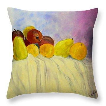 Fruit Throw Pillow