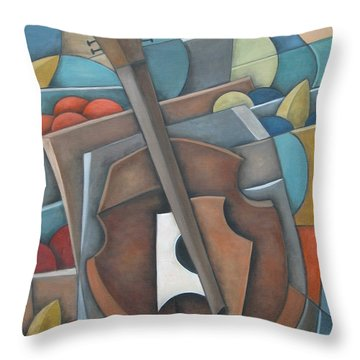 Fruit Cello Throw Pillow