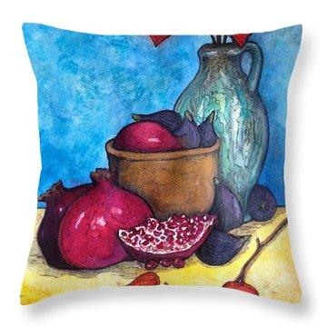 Fruits Of Season  Throw Pillow