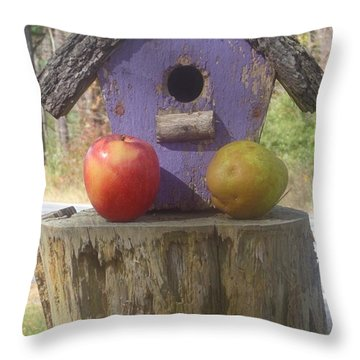 Fruity Home? Throw Pillow