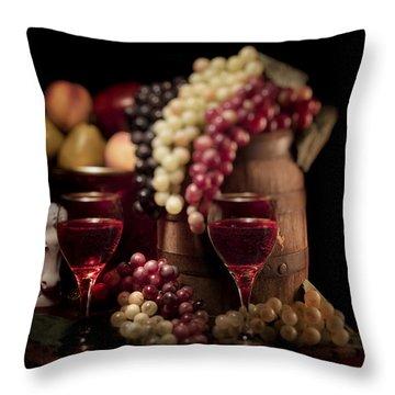 Wine Barrel Throw Pillows