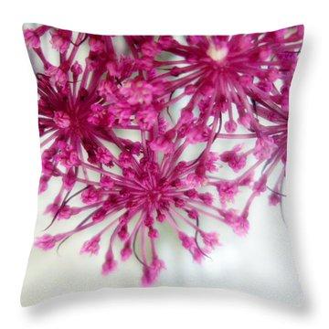 Fuchsia Frenzy  Throw Pillow