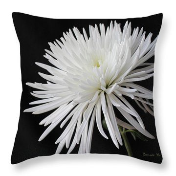 Fuji Mum Throw Pillow