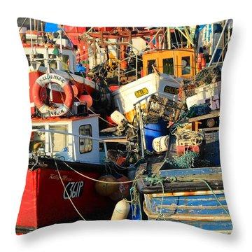 Full Harbour Throw Pillow