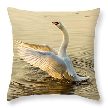 Throw Pillow featuring the photograph Full Of Hope And Life by Rose-Maries Pictures