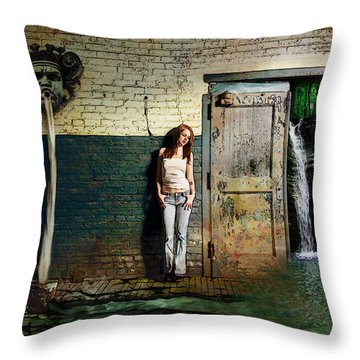 Fullcircle Throw Pillow