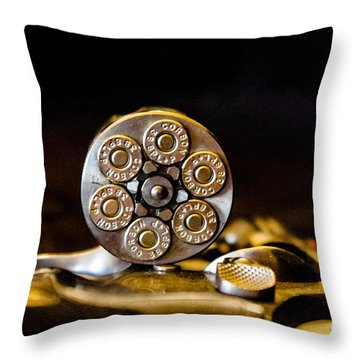 Throw Pillow featuring the photograph Fully Loaded by Deniece Platt