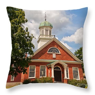 Fulton County Court House Throw Pillow by Sue Smith