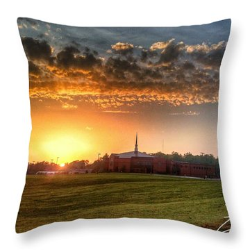 Fumc Sunset Throw Pillow