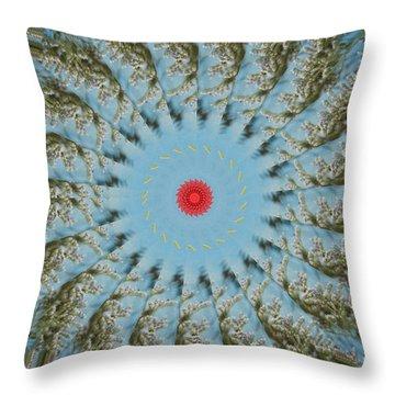 Fun Throw Pillow by Bobbie Barth