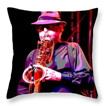 Funky Doctor Throw Pillow