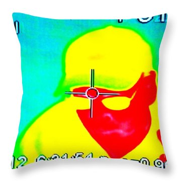 I Am Number One Throw Pillow