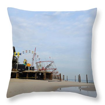 Funtown Throw Pillow