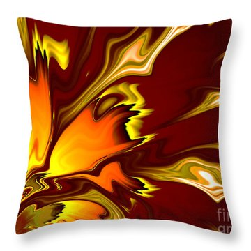 Furnace Throw Pillow