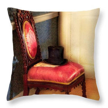 Furniture - Chair - Ready For The Ball Throw Pillow by Mike Savad