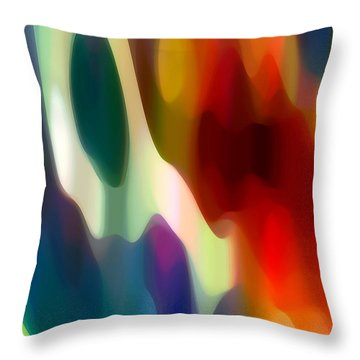 Fury 2 Throw Pillow by Amy Vangsgard