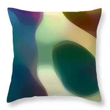 Fury Panoramic Vertical 2 Throw Pillow by Amy Vangsgard