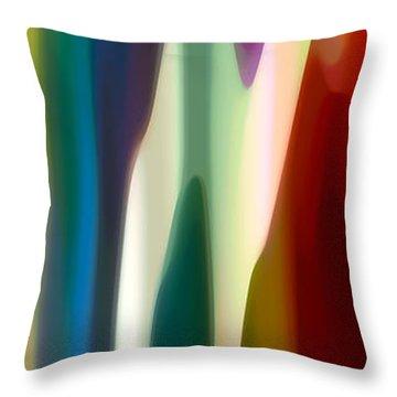 Fury Panoramic Vertical 4 Throw Pillow by Amy Vangsgard