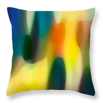 Fury Rain 5 Throw Pillow