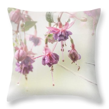 Fuschia Dreams Throw Pillow