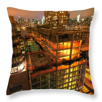 Future Views Throw Pillow