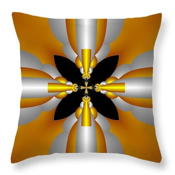 Futuristic Throw Pillow by Svetlana Nikolova