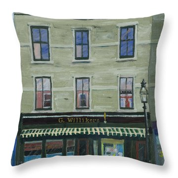 G. Willikers Throw Pillow