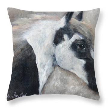 Gabriel - The Angel Is In His Face Throw Pillow