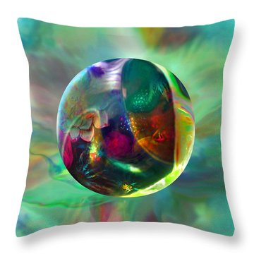 Gaelic Earth Throw Pillow
