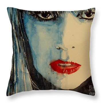 Lady Gaga Throw Pillows